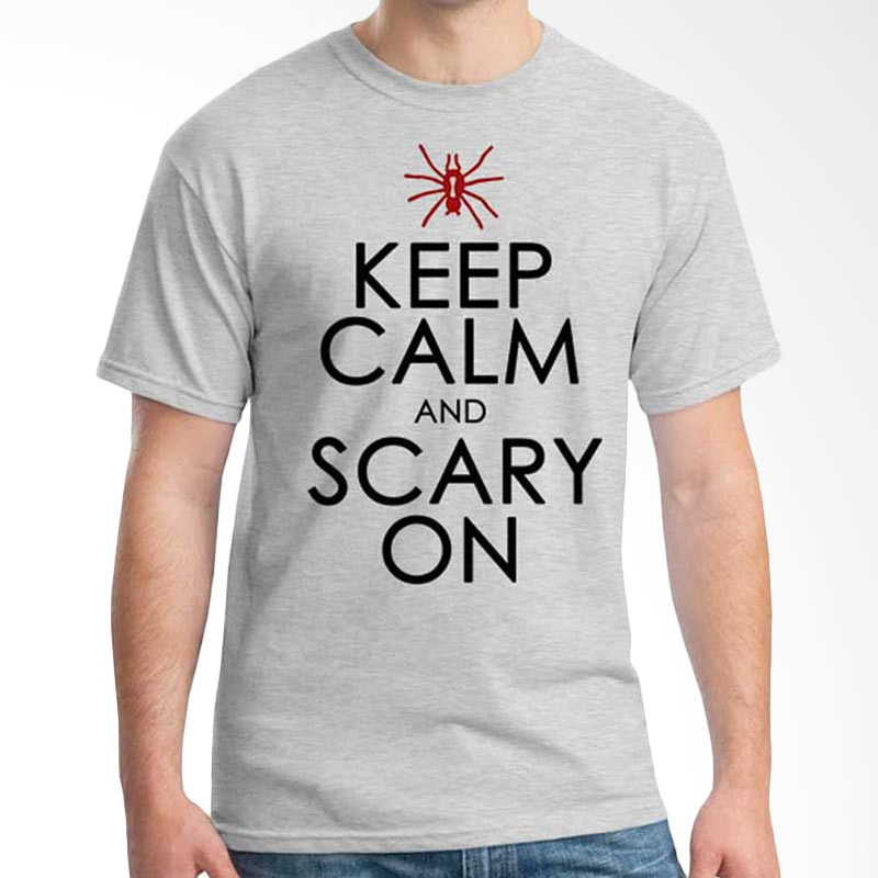 Ordinal Keep Calm And Scary On T-shirt