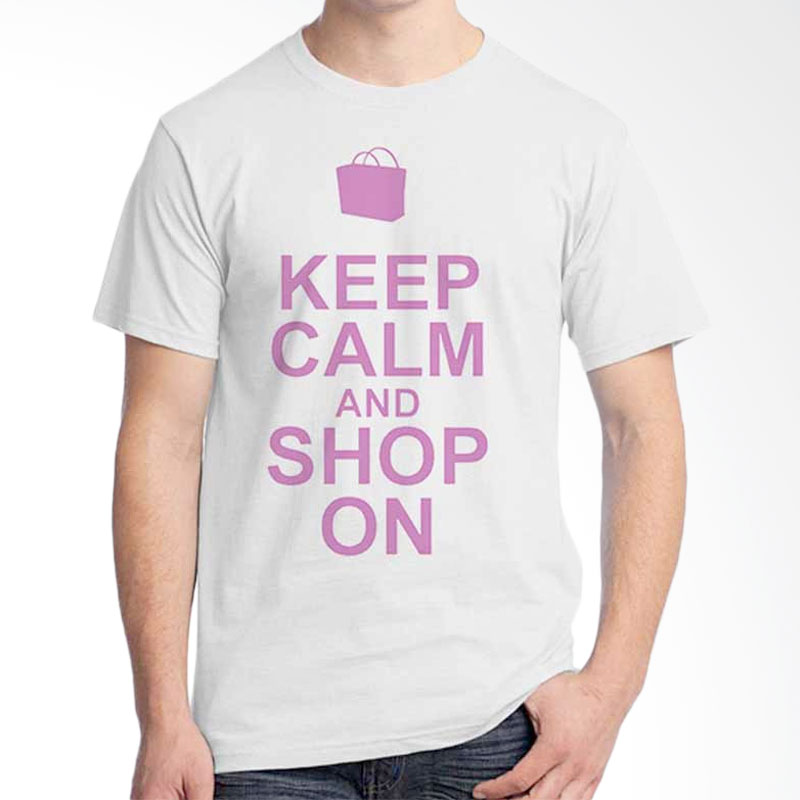 Ordinal Keep Calm And Shop On T-shirt