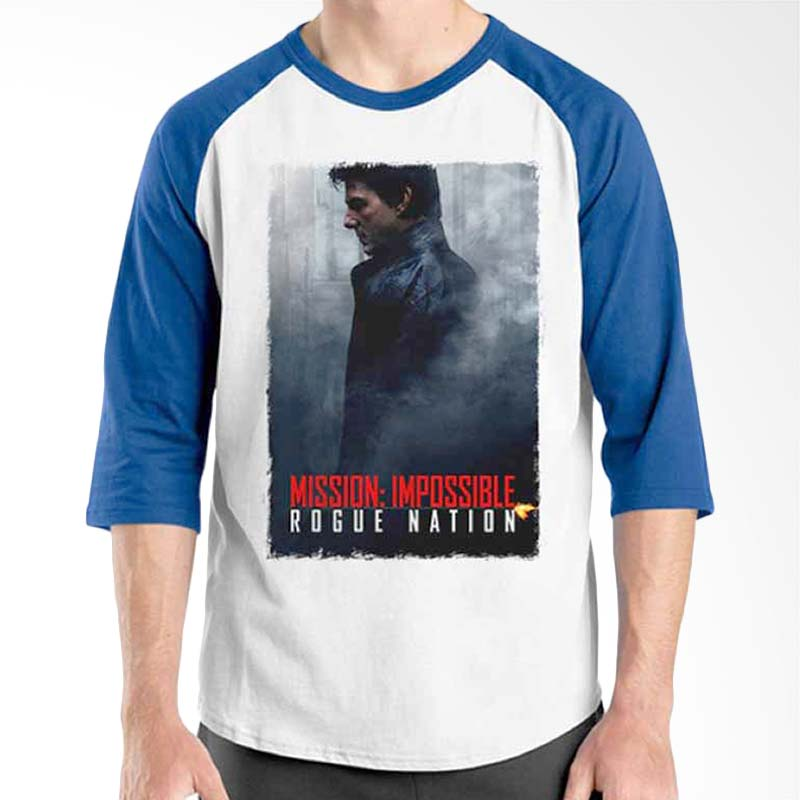 Ordinal Mission Impossible 03 Blue White Raglan