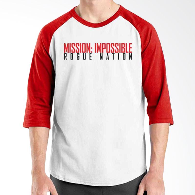 Ordinal Mission Impossible Logo Raglan