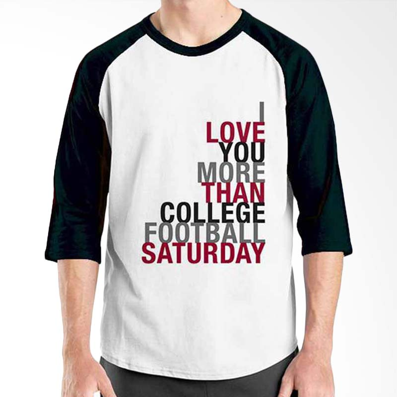 Ordinal Motivation Quotes Edition I Love You Black White Raglan