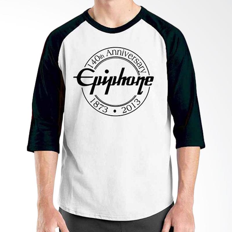 harga Ordinal Music Gear Edition Epiphone Black White Raglan Blibli.com