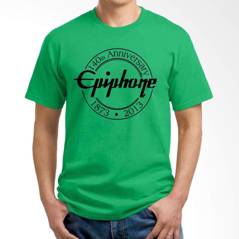 harga Ordinal Music Gear Edition Epiphone Green Kaos Pria Blibli.com