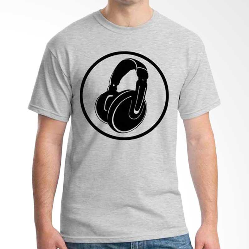 Ordinal Music Gear Edition Headphone Grey Kaos Pria