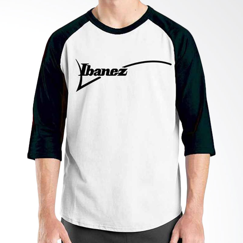 Ordinal Music Gear Edition Ibanez Black White Raglan