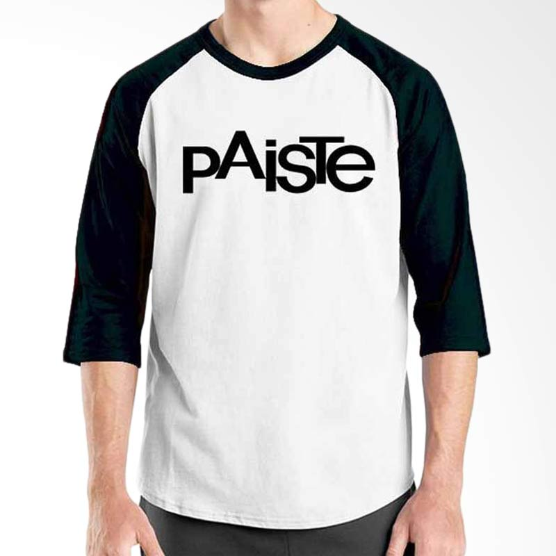 Ordinal Music Gear Edition Paiste Black White Raglan