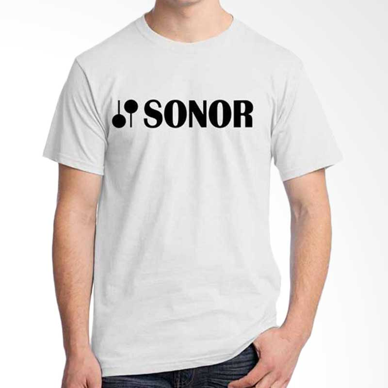 Ordinal Music Gear Edition Sonor White Kaos Pria
