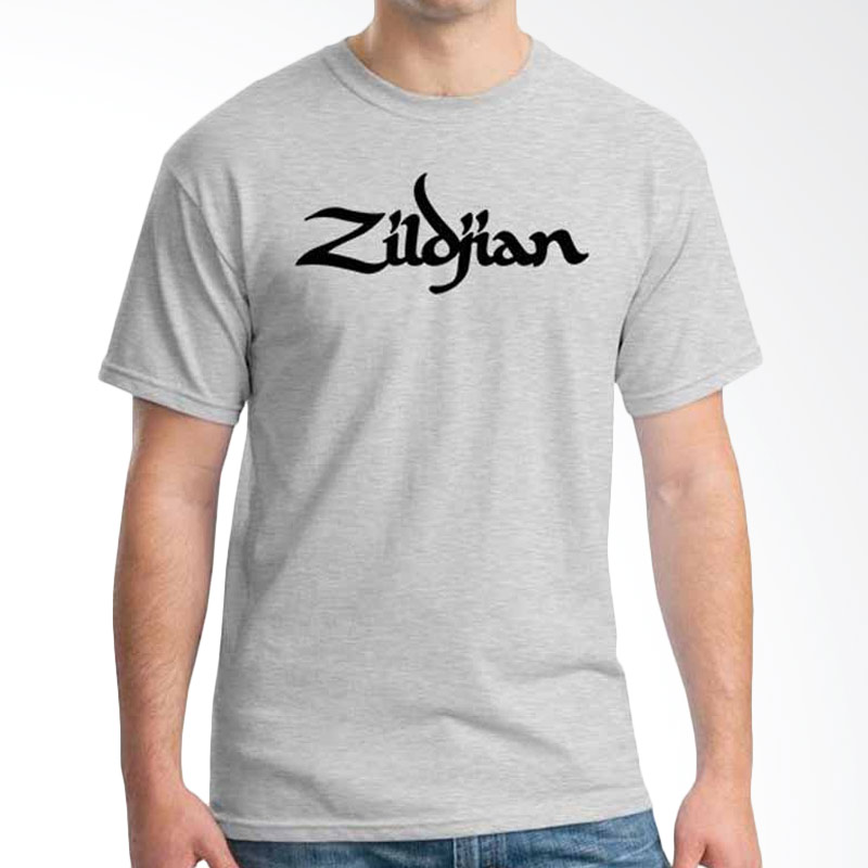 Ordinal Music Gear Edition Zildjian Grey Kaos Pria