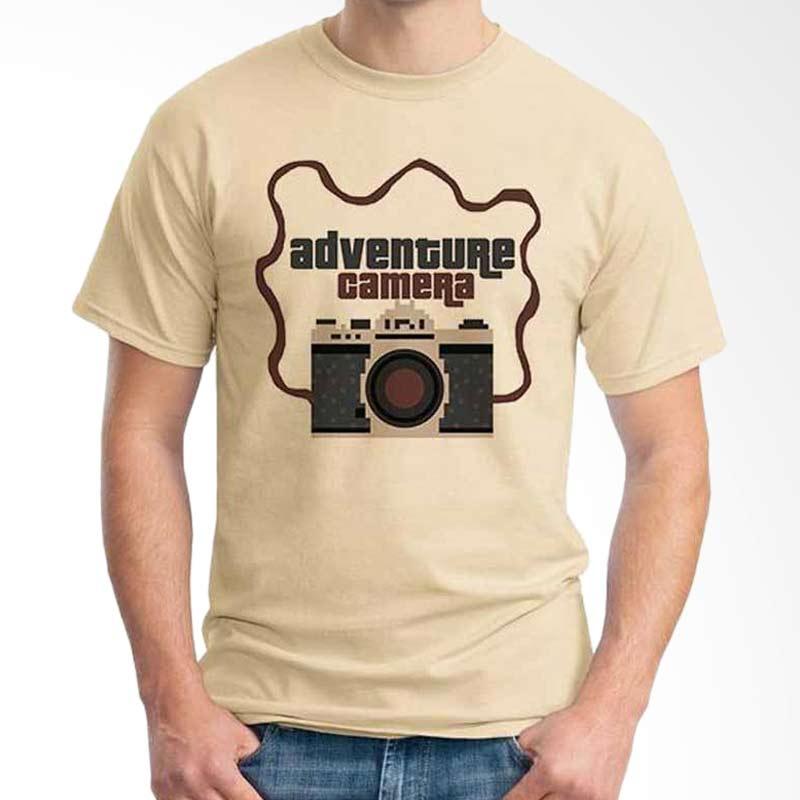 Ordinal Photography Art Adventure Camera Beige T-shirt