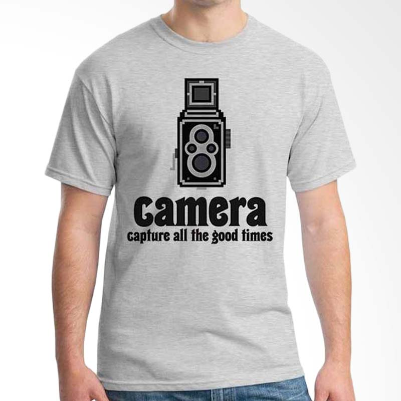 Ordinal Photography Art Capture Grey T-shirt
