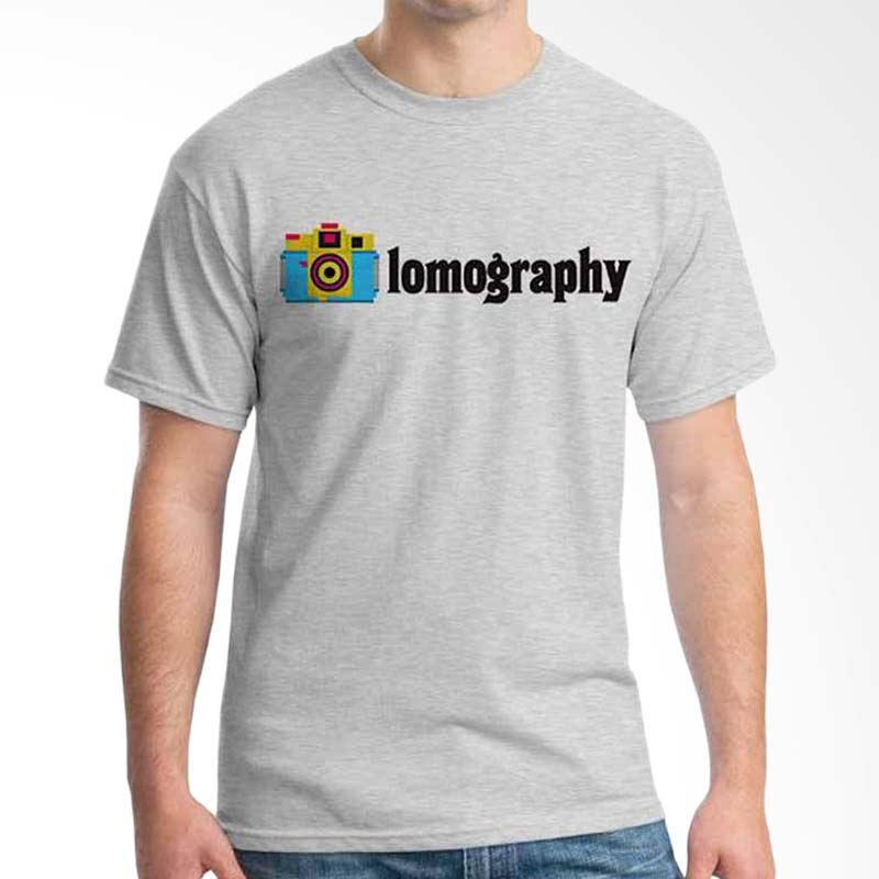 Ordinal Photography Art Lomography Grey T-shirt