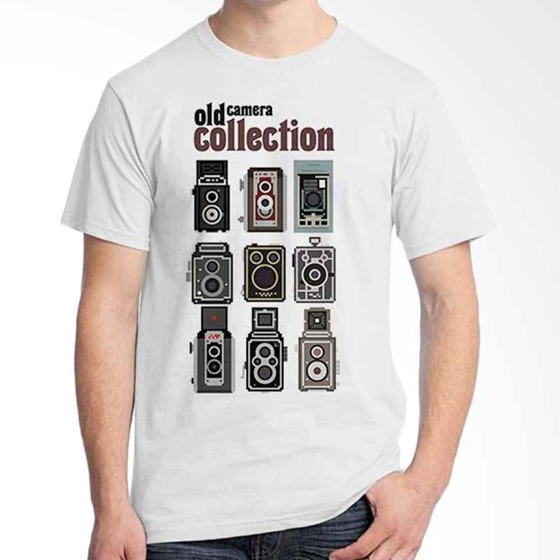 Ordinal Photography Art Old Camera 02 White T-shirt