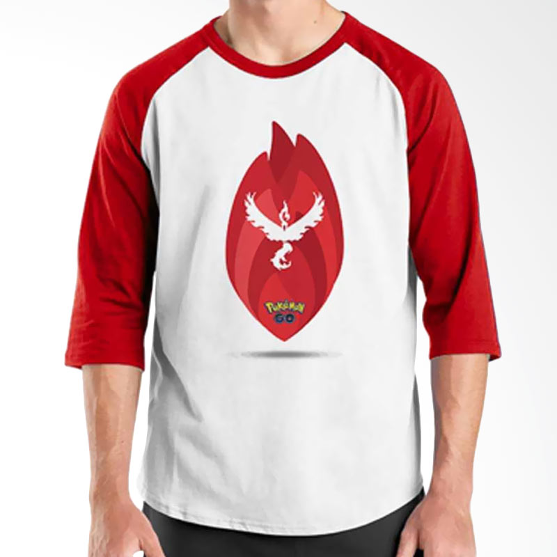 Ordinal Pokemon GO 09 Raglan T-Shirt
