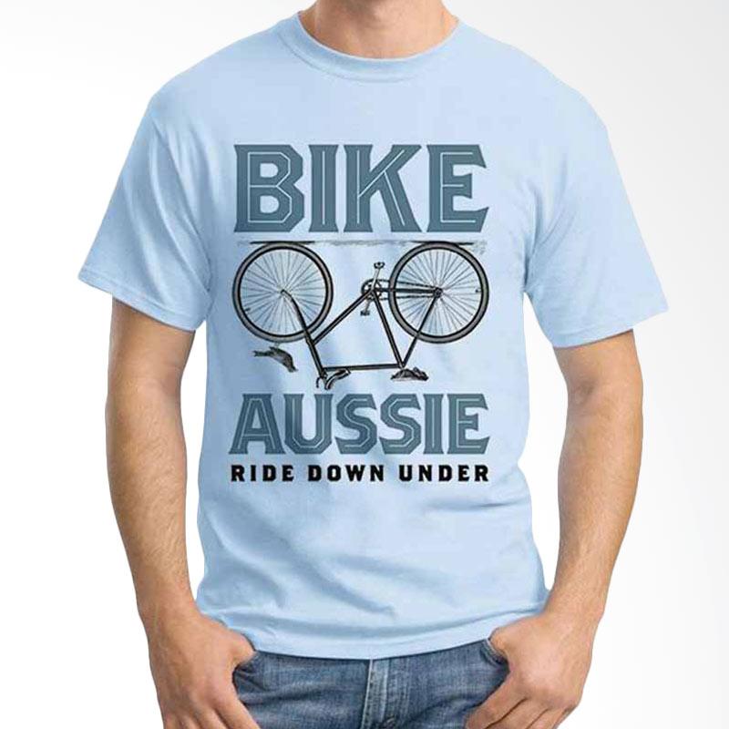 Ordinal Quotes Edition Bike Aussie Kaos Pria