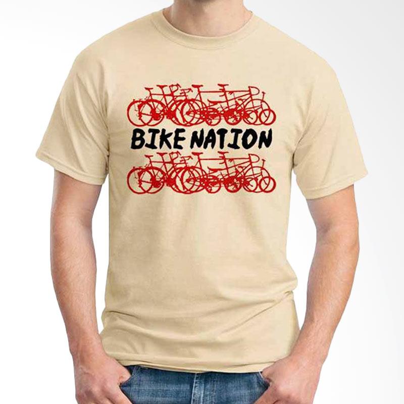 Ordinal Quotes Edition Bike Nation Kaos Pria
