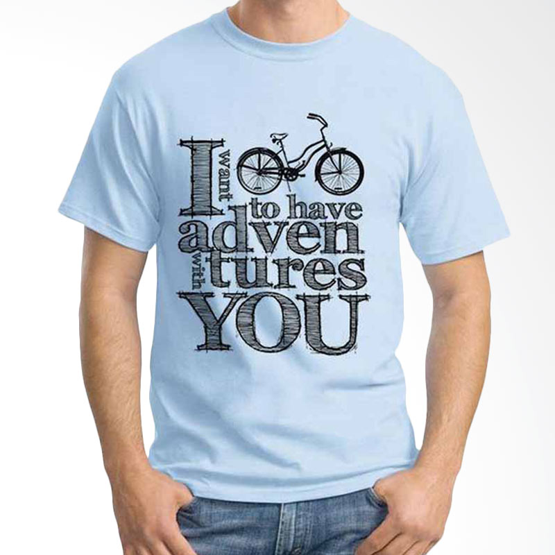 Ordinal Quotes Edition Bike Quotes Kaos Pria