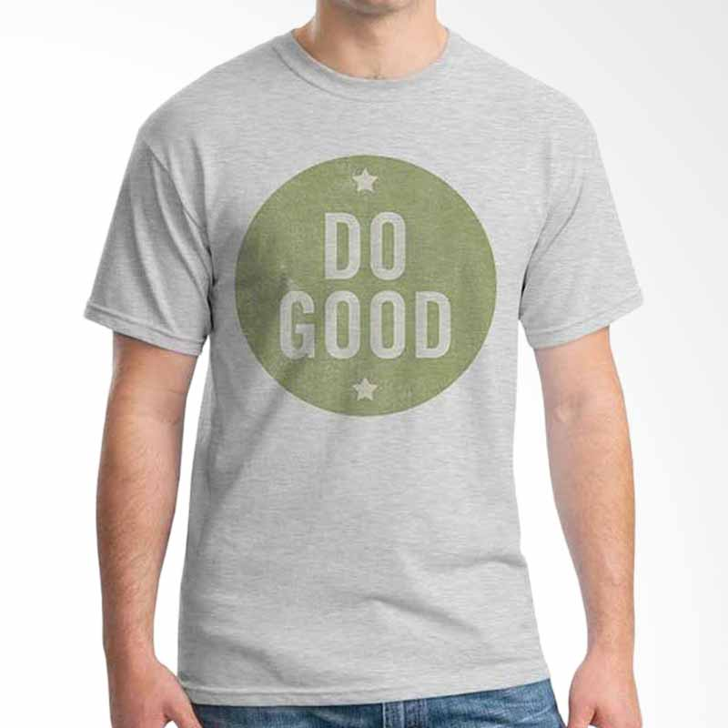 Ordinal Quotes Edition Do Good Grey Kaos Pria