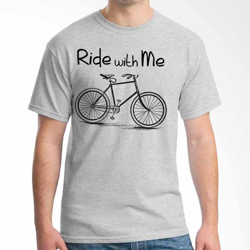 Ordinal Quotes Edition Ride With Me Grey T-shirt