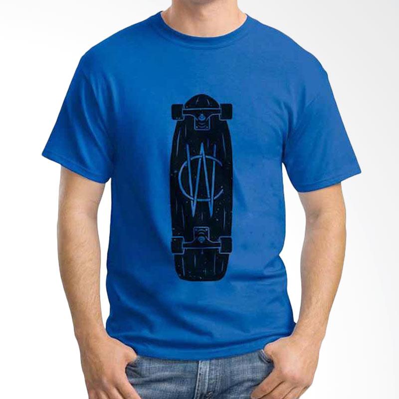 Ordinal Skateboard Dark Blue T-shirt