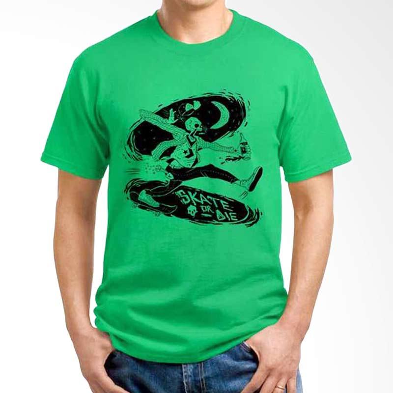 Ordinal Skateboard Edition Skate Or Die Green T-shirt