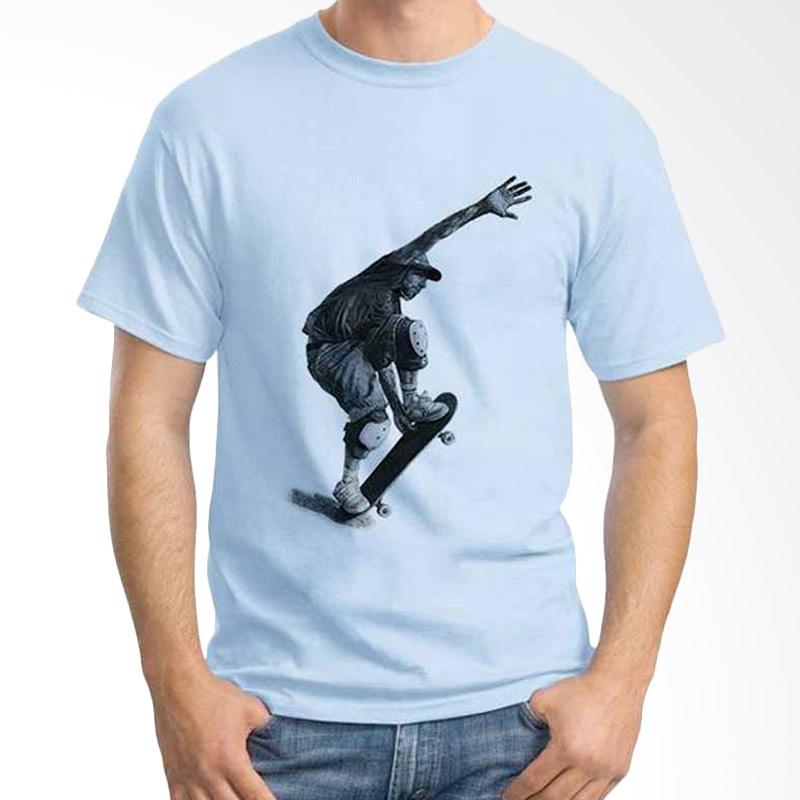 Ordinal Skateboarding 01 Light Blue T-shirt