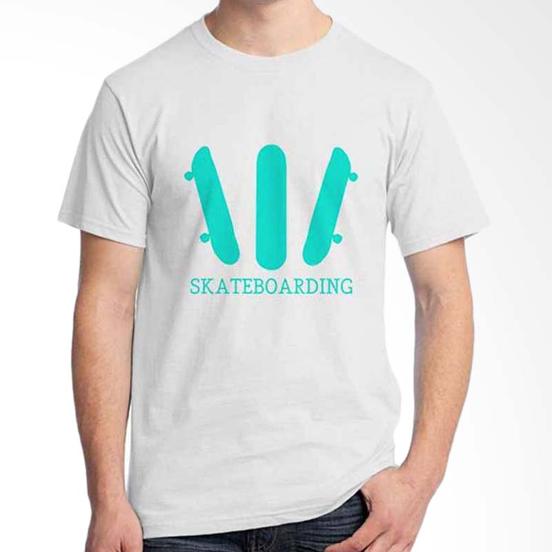 Ordinal Skateboarding 03 White T-shirt