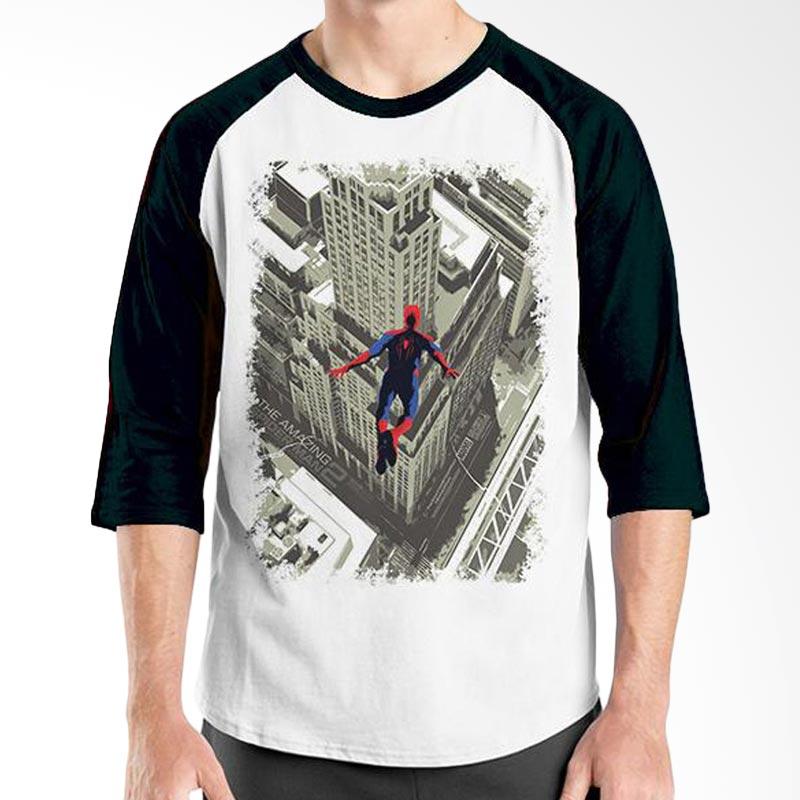 Ordinal Spiderman Poster 02 Black White Raglan Kaos Pria Extra diskon 7% setiap hari Extra diskon 5% setiap hari Citibank – lebih hemat 10%
