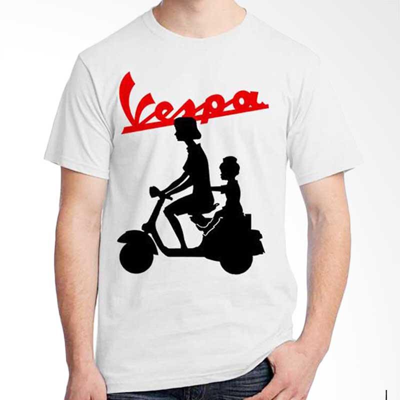 Ordinal Vespa Black 02 T-shirt