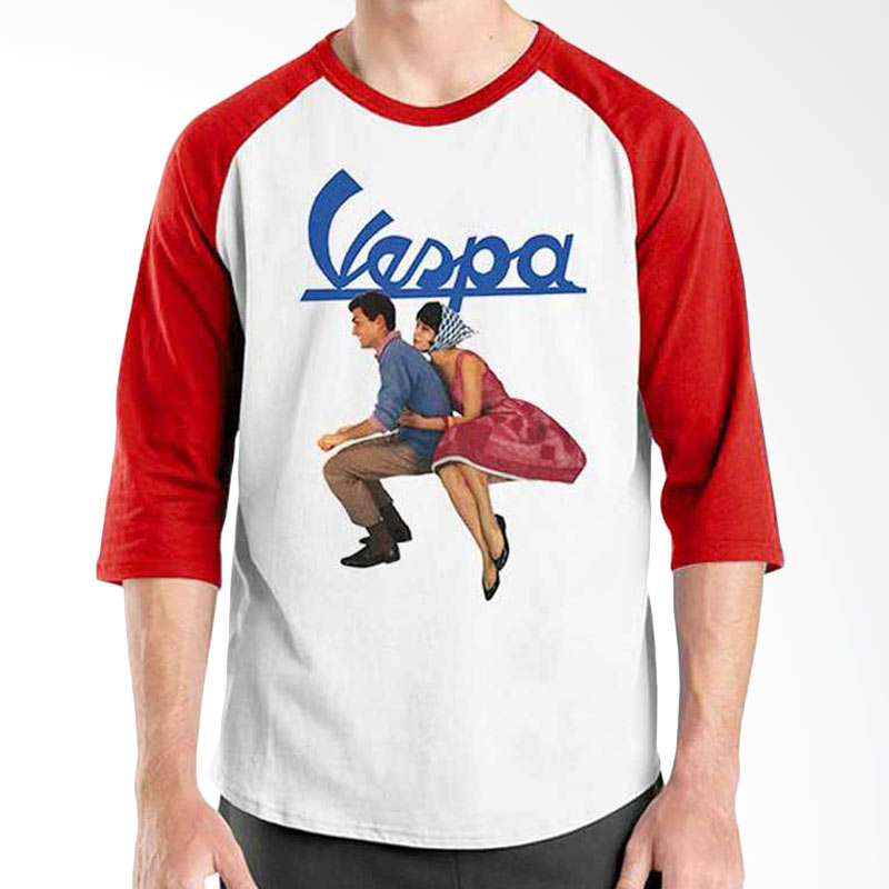 Ordinal Vespa Couple Raglan