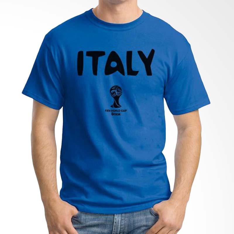 Ordinal WC Italy Team 01 Dark Blue T-shirt Extra diskon 7% setiap hari Citibank – lebih hemat 10% Extra diskon 5% setiap hari