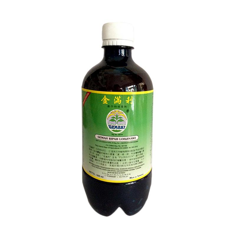 harga Rekomendasi Seller Gemah Ripah Lohjinawi Pupuk Organik Cair untuk Tanaman Buah, Sayur, dan Hias [500 mL] Blibli.com