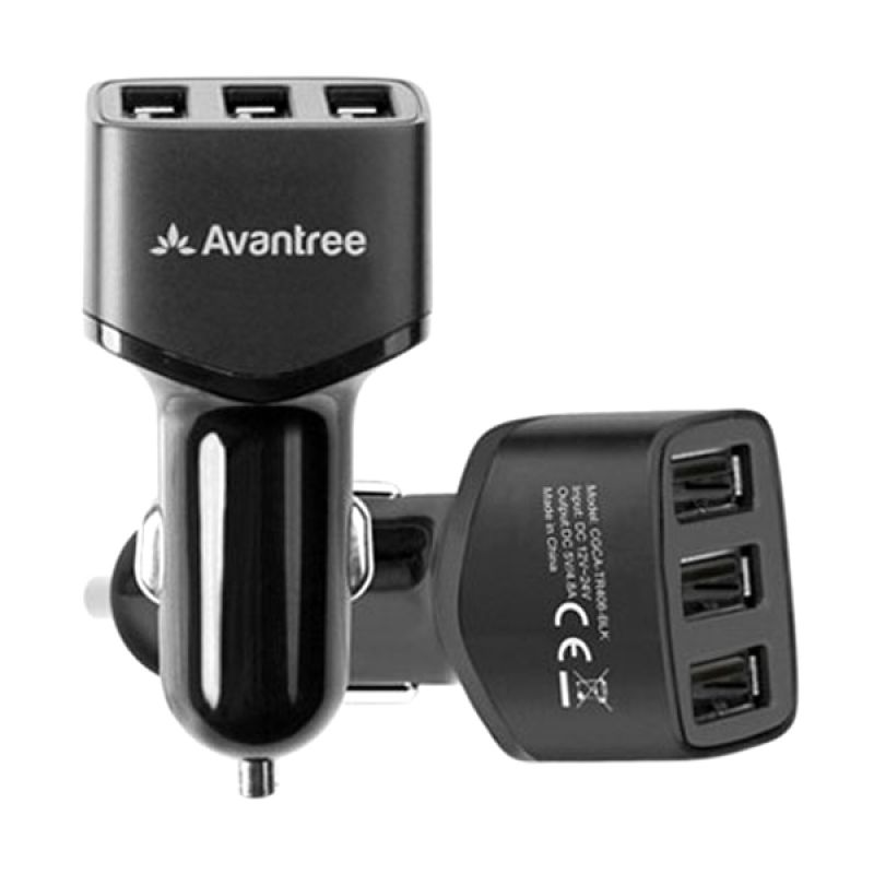 Avantree Triple USB Car Charger [4.8 A]