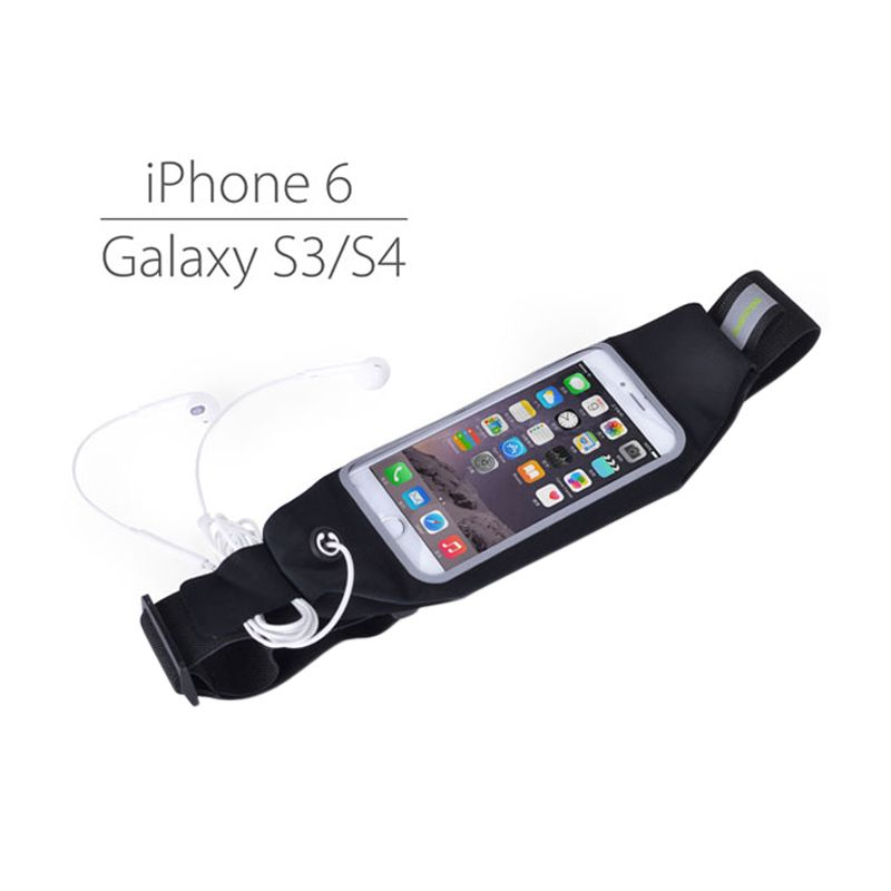 Avantree Wallaroo Running Belt for Smartphone [iPhone 6 Plus or Galaxy Note 3 or Galaxy Note 4]