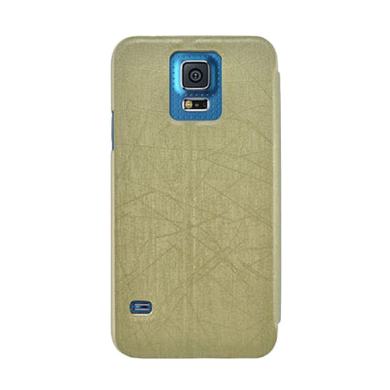 Metal-Slim Classic Q Gold for Samsung Galaxy S5