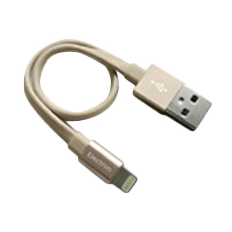 Monocozzi Alumflat Cable Lightning Gold USB Data Cable [20 cm]