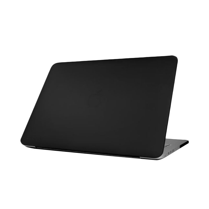Monocozzi Matte Hard Shell Black Casing for Macbook Air [11 Inch]