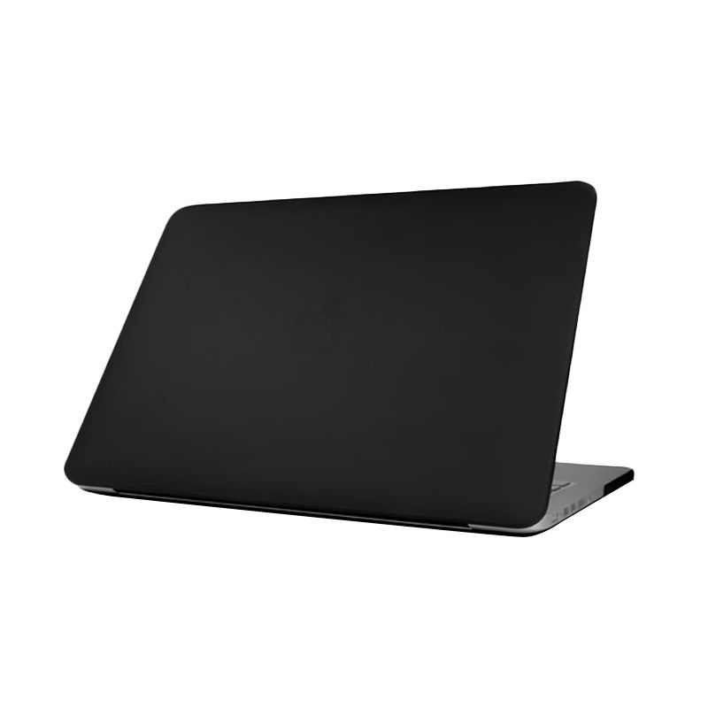 Monocozzi Matte Hard Shell Hitam Casing for Macbook Air [13 Inch]