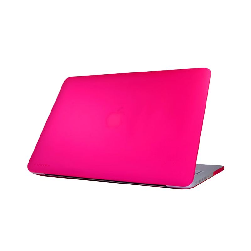 Monocozzi Matte Hard Shell Pink Casing for Macbook Air [13 Inch]