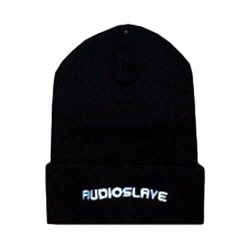 Audio Slave Textured Black And Gray Topi