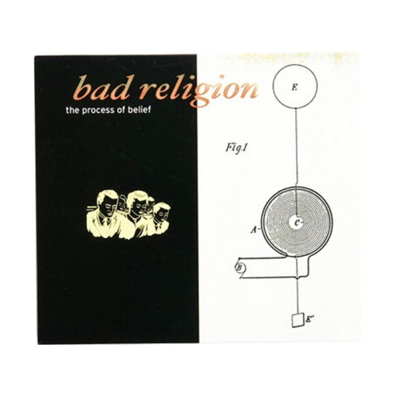Bad Religion - The Process of Belief CD Music