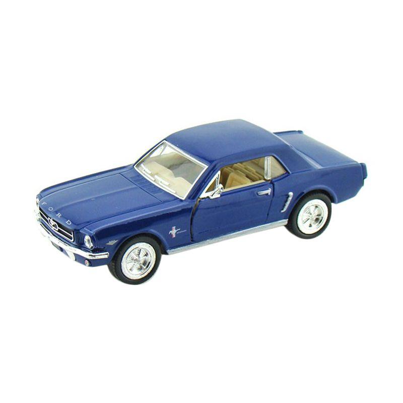 KINSMART Ford Mustang 1964 Blue Diecast