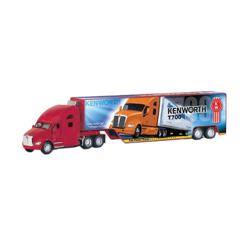 Kinsmart Kenworth T700 with Container Red Diecast [1:68]