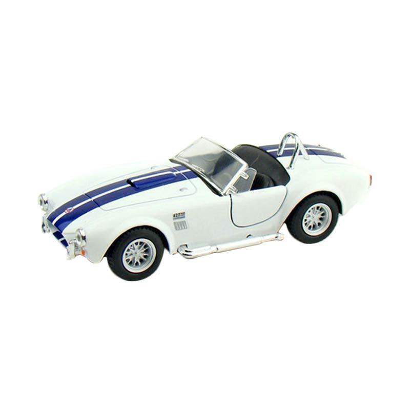 Kinsmart Shelby Cobra 427 S/C 1965 White Diecast