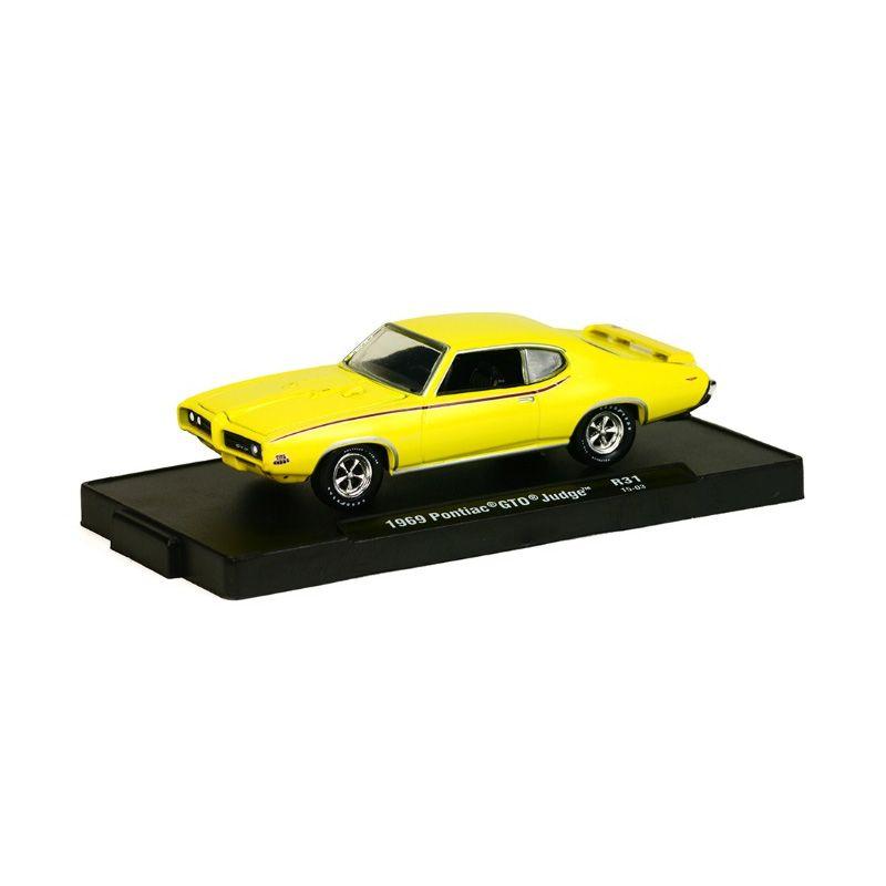 M2 Machines Pontiac GTO Judge 1969 Kuning Diecast [1:64]