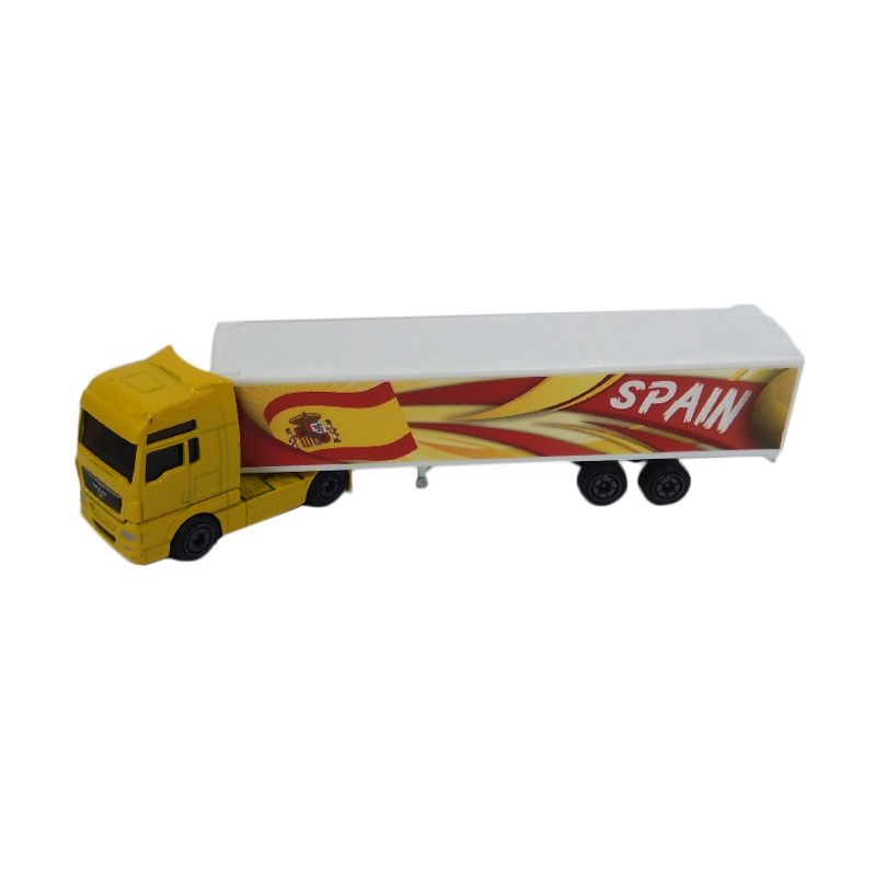 Majorette Truck Man Spain Yellow Diecast [1:95]