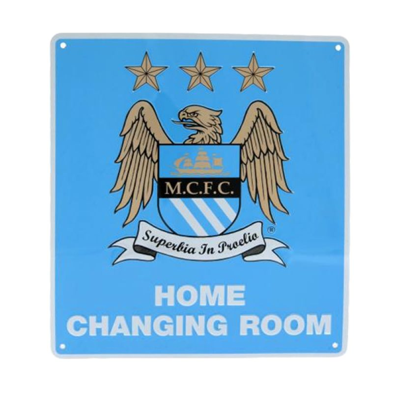 Manchester City Home Changing Room Signboard