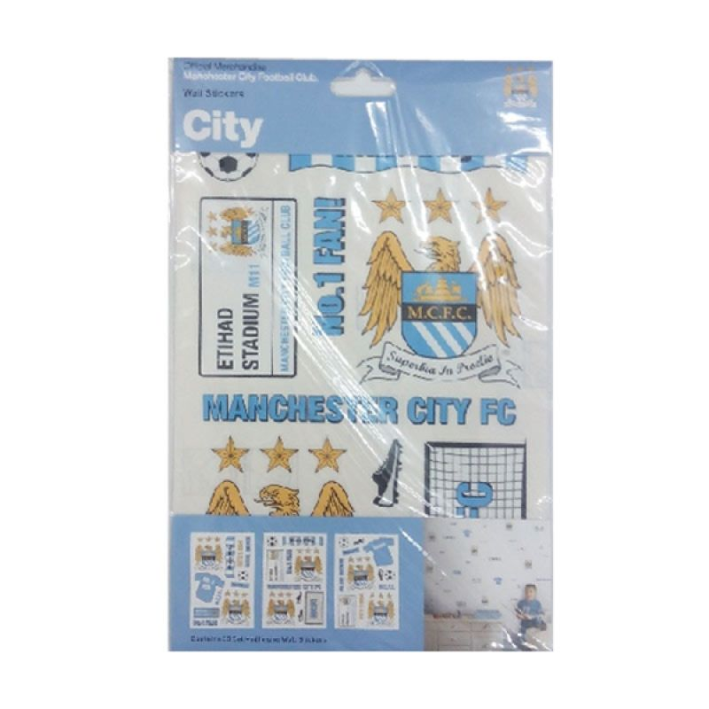 jual manchester city wall stickers set online harga new york city wall sticker wall stickers