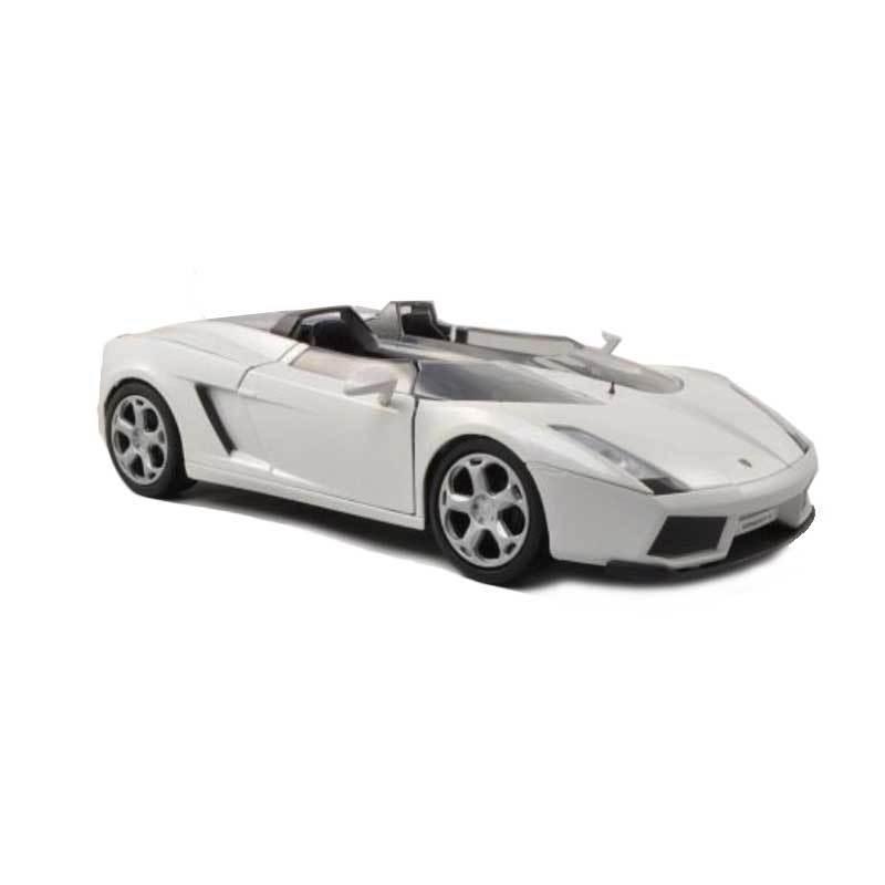 MotorMax Lamborghini Concept S White Diecast