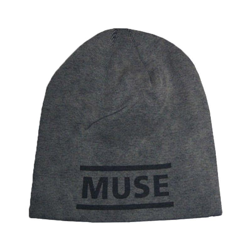 Muse Black Logo Faded Grey Topi