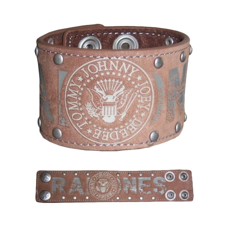 Ramones Seal Suede Wristband [Size S]